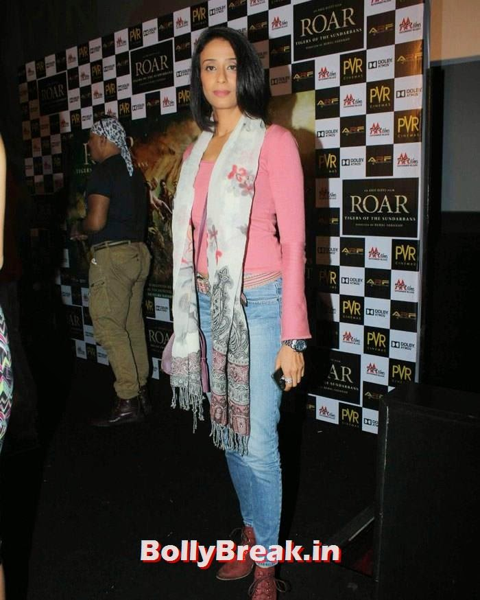 Achint Kaur, Celebs at 'Roar' Movie First Look Launch