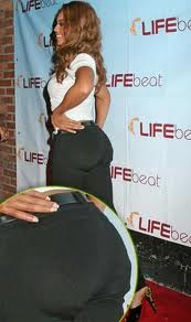 Beyonce Wears Butt Pads 8
