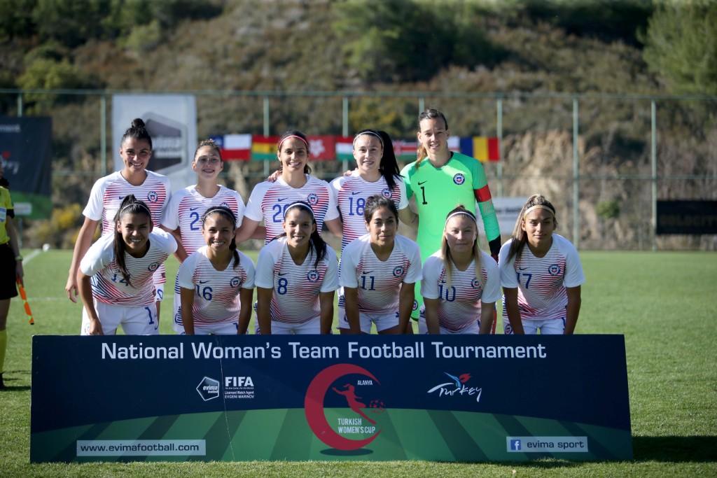 Formación de selección femenina de Chile ante Kenia, Turkish Women's Cup, 7 de marzo de 2020