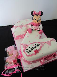 A Minnie no 2º aniversário da Gabriela