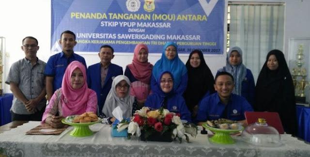 FKIP UNSA Jalin Kerjasama STKIP YPUP Makassar