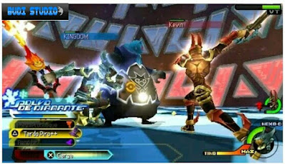 Kingdom Hearts Birth by Sleep PPSSPP PSP 2