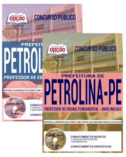 Apostila para o concurso SEDU Petrolina 2018