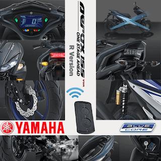 Fitur Spesifikasi Yamaha Aerox 155 VVA R Version