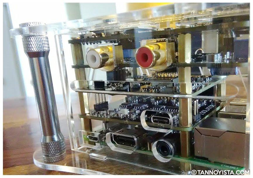 The ALLO Katana DAC + Isolator fully assembled - Tannoyista.com