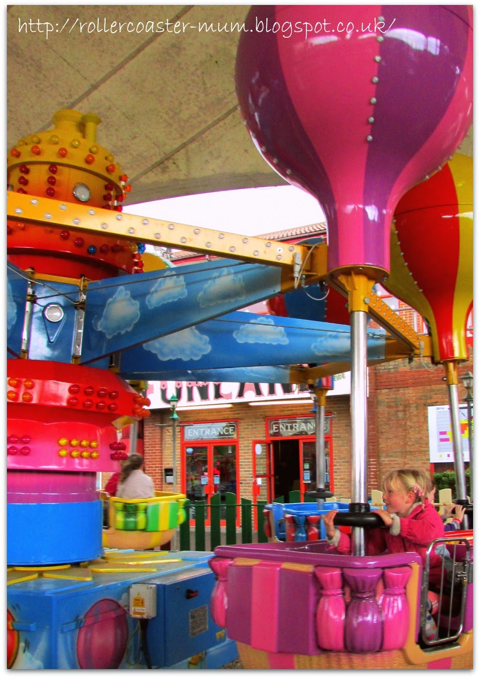Balloon ride, Funland, Hayling Island