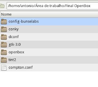 Configurações do OpenBox Busenlabs usadas no Mx16