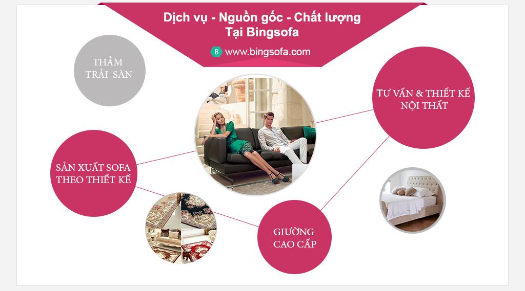 Xưởng sản xuất sofa bingsofa