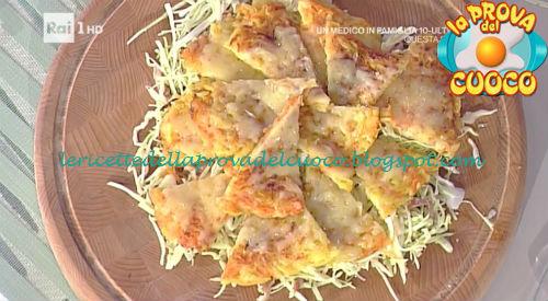 Rosti di patate e zucca con formaggio d'alpeggio ricetta Holzer da Prova del Cuoco