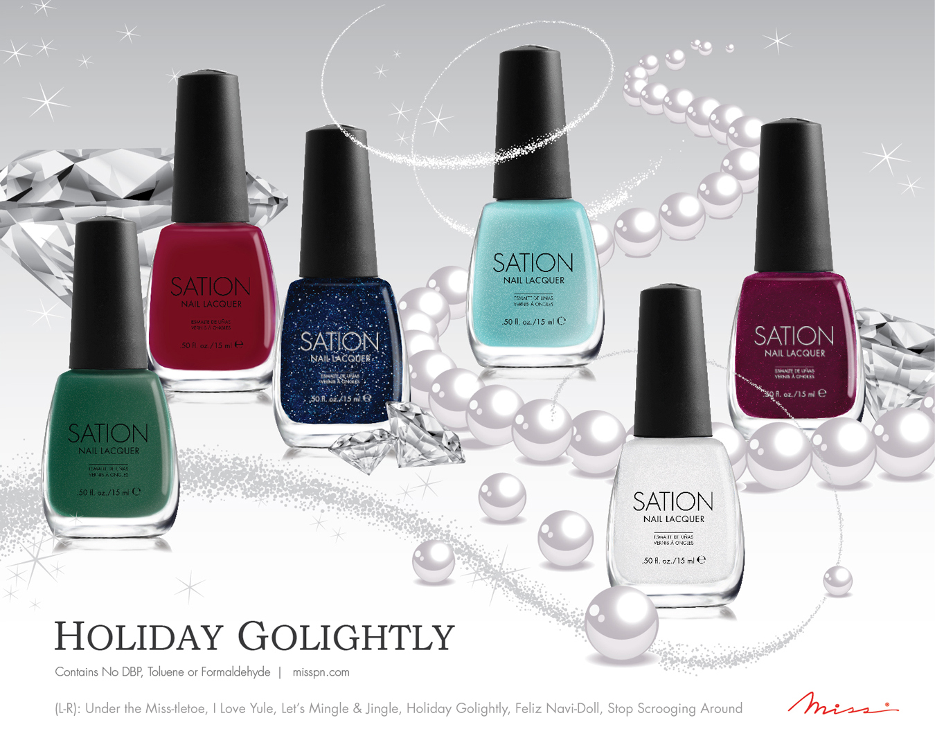 Sation - Holiday Golightly Collection