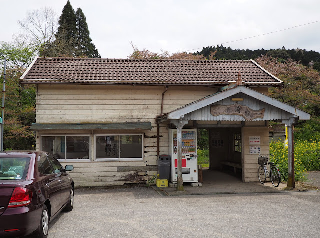 小湊鐵道 月崎駅