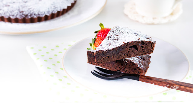 Rice Flour Chocolate Cake