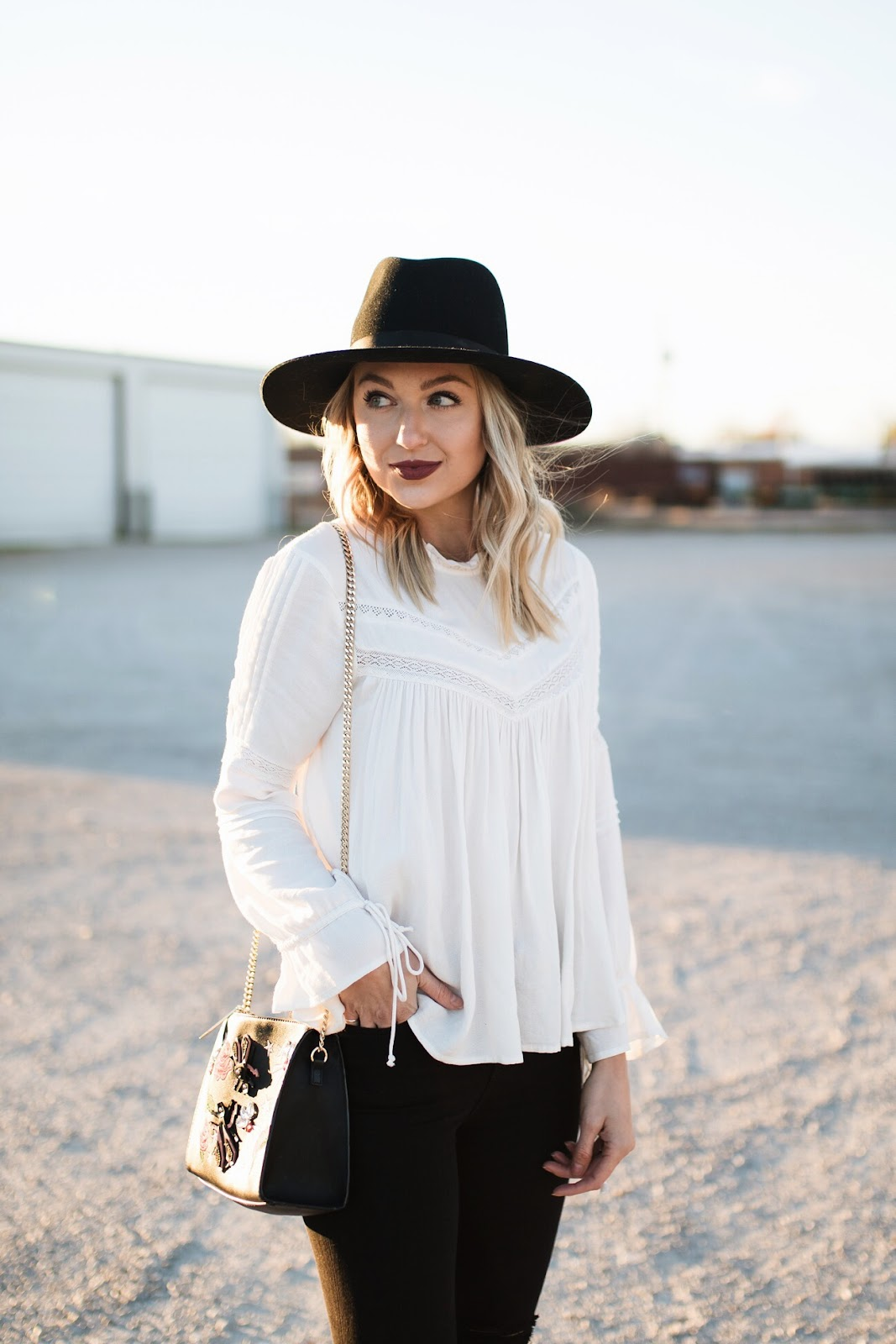 How to wear white in the fall & winter