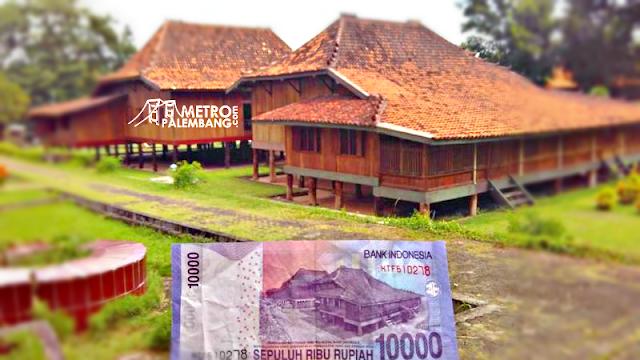 Rumah Limas Uang 10 Ribu