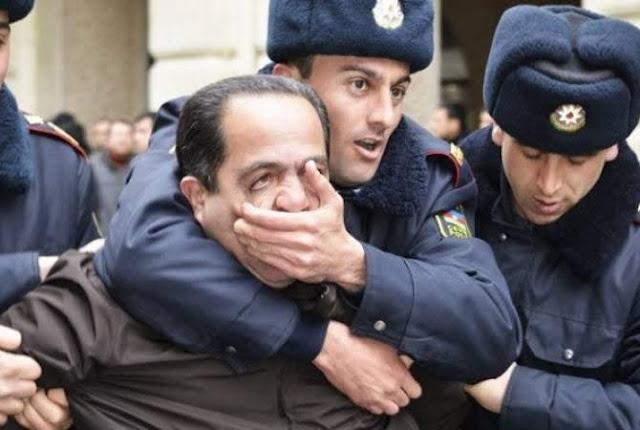 Periodista secuestrado por gobierno de Azerbaiyán.