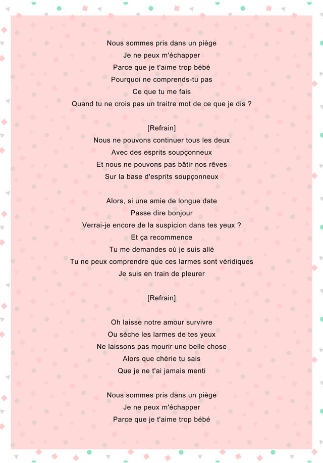 traduction chanson suspicious minds