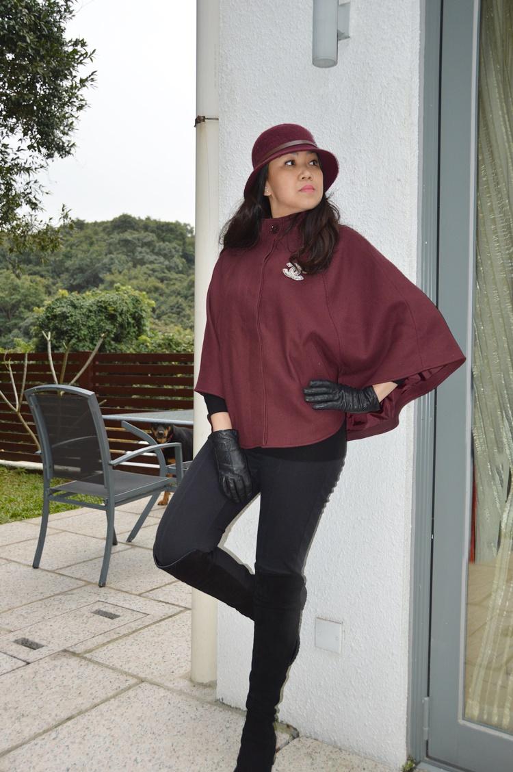 Ladies leather gloves cape town - Cape Town Burgundy Cape Hat