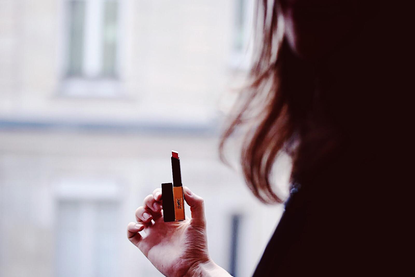 YSL yves saint laurent pur couture slim lipstick nouveau rouge à lèvres automne fall 2018