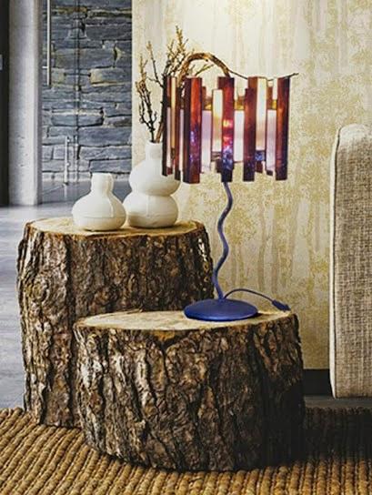 Vidrieras artesanas l mpara de mesa ambiente r stico - Lamparas de ambiente ...