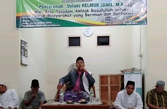 Peringatan Maulid Nabi Warga RT.03.RW.07 Di Masjid Baitul Atiq Berjalan Sukses, Berikut Ulasan Singkatnya.