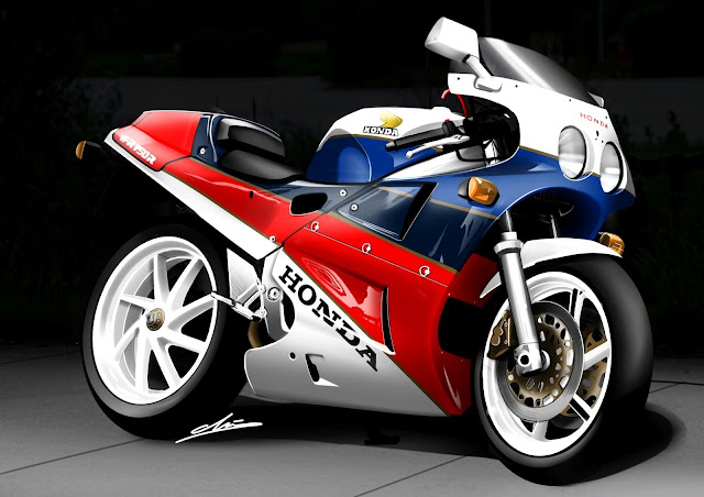 Honda VFR750R RC30 pictures and wallpaper