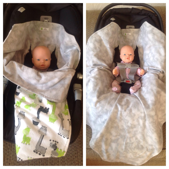 These Car Seat And Stroller Swaddle Blankets Are Thicker Than Most Baby Completely Cover Your The Majority Of