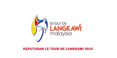 Keputusan Pelumbaan LTDL 2019 Le Tour de Langkawi