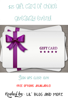 Free Blogger Opportunity - $25 Gift Card Signups