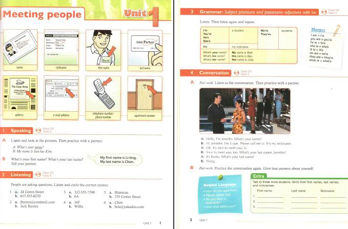 Talk Time Student Book