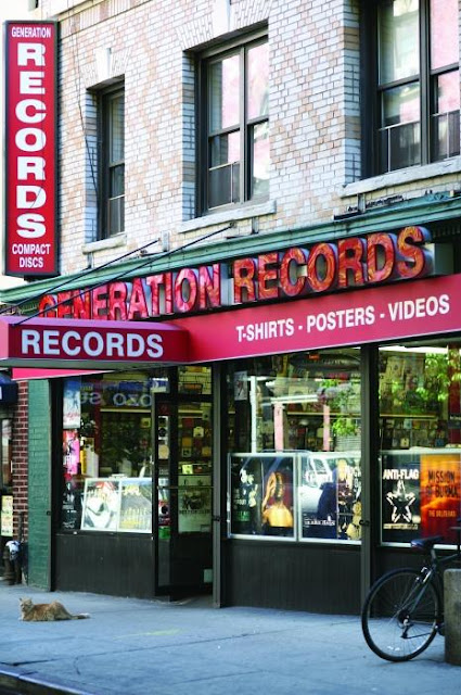 Generation Records Record Store Greenwich Village New York