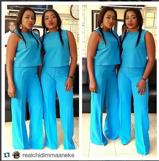 Aneke Twins Put Ego Aside, Grab Broom And Mop To Wash Church [Photos]