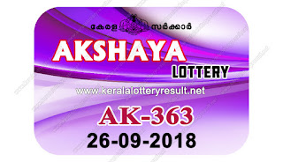 KeralaLotteryResult.net , kerala lottery result 26.9.2018 akshaya AK 363 26 september 2018 result , kerala lottery kl result , yesterday lottery results , lotteries results , keralalotteries , kerala lottery , keralalotteryresult , kerala lottery result , kerala lottery result live , kerala lottery today , kerala lottery result today , kerala lottery results today , today kerala lottery result , 26 09 2018, kerala lottery result 26-09-2018 , akshaya lottery results , kerala lottery result today akshaya , akshaya lottery result , kerala lottery result akshaya today , kerala lottery akshaya today result , akshaya kerala lottery result , akshaya lottery AK 363 results 26-9-2018 , akshaya lottery AK 363 , live akshaya lottery AK-363 , akshaya lottery , 26/8/2018 kerala lottery today result akshaya , 26/09/2018 akshaya lottery AK-363 , today akshaya lottery result , akshaya lottery today result , akshaya lottery results today , today kerala lottery result akshaya , kerala lottery results today akshaya , akshaya lottery today , today lottery result akshaya , akshaya lottery result today , kerala lottery bumper result , kerala lottery result yesterday , kerala online lottery results , kerala lottery draw kerala lottery results , kerala state lottery today , kerala lottare , lottery today , kerala lottery today draw result,