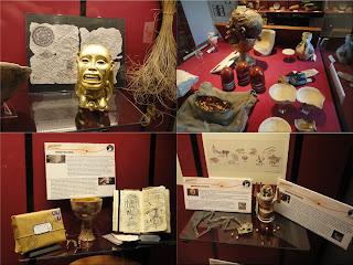 Objetos de la exposición