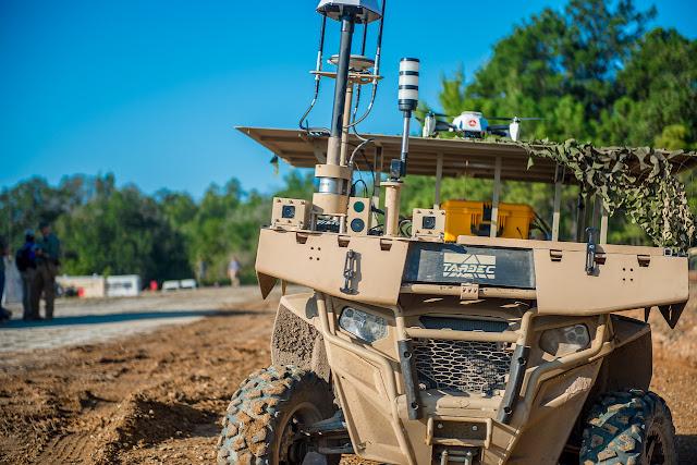 Τα Χερσαία Drones θα Χτυπάνε σαν τα Abrams