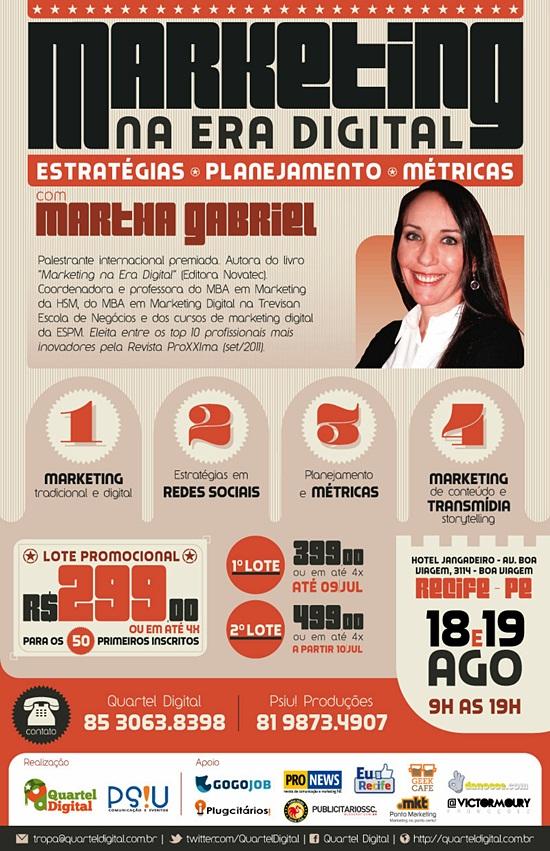 Martha Gabriel - Marketing Digital