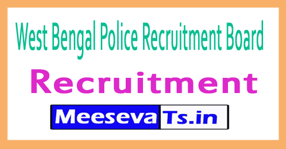 West Bengal Police Recruitment Board WBPRB Recruitment
