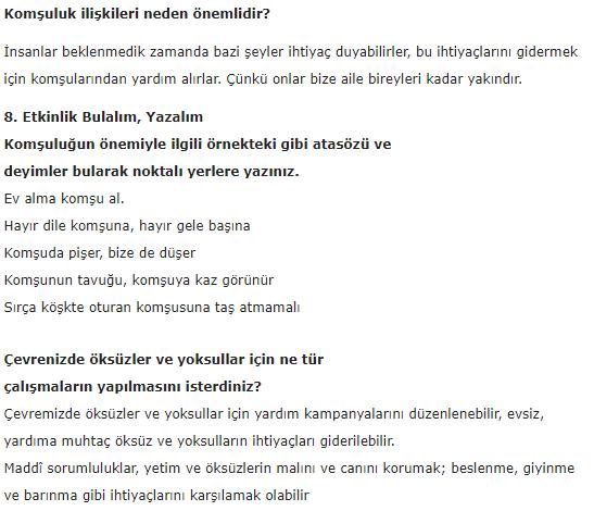 5. Sınıf İlke Yayınları Din Kültürü Ders Kitabı 67. Sayfa Cevapları 3.Ünite
