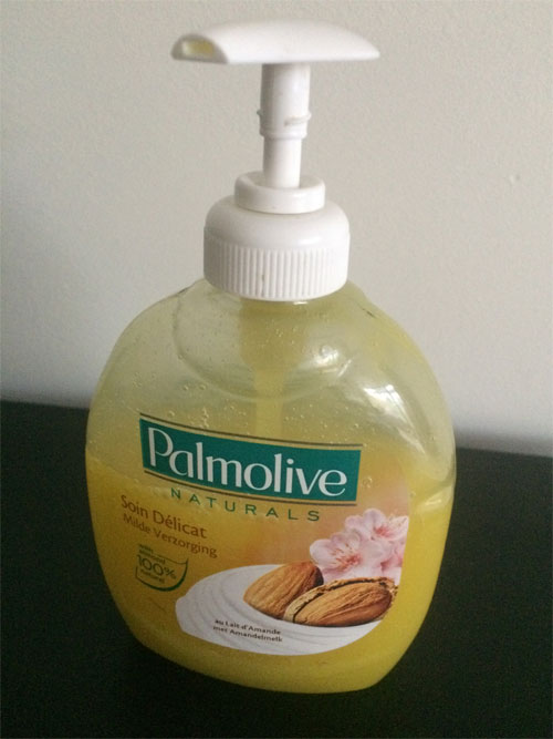 zelfgemaakte vanille handzeep
