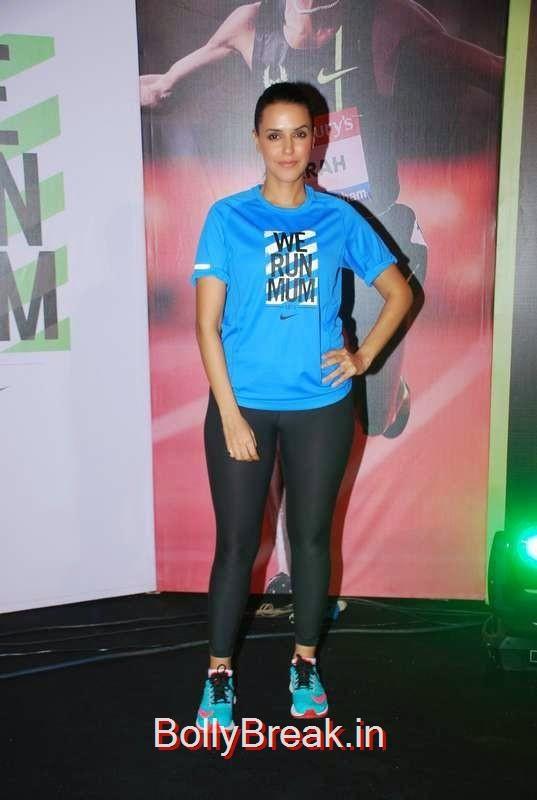 Neha Dhupia snapped at NiKE marathon run promotions in Mumbai, Sunny Leone, Neha Dhupia, Sonakshi Sinha Snapped At DIfferent Events