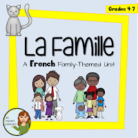 https://www.teacherspayteachers.com/Product/La-famille-A-French-family-themed-unit-1247491