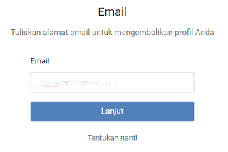register vk with email