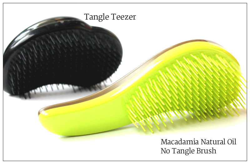 Review: Tangle Teezer VS Macadamia Natural Oil No Tangle Brush
