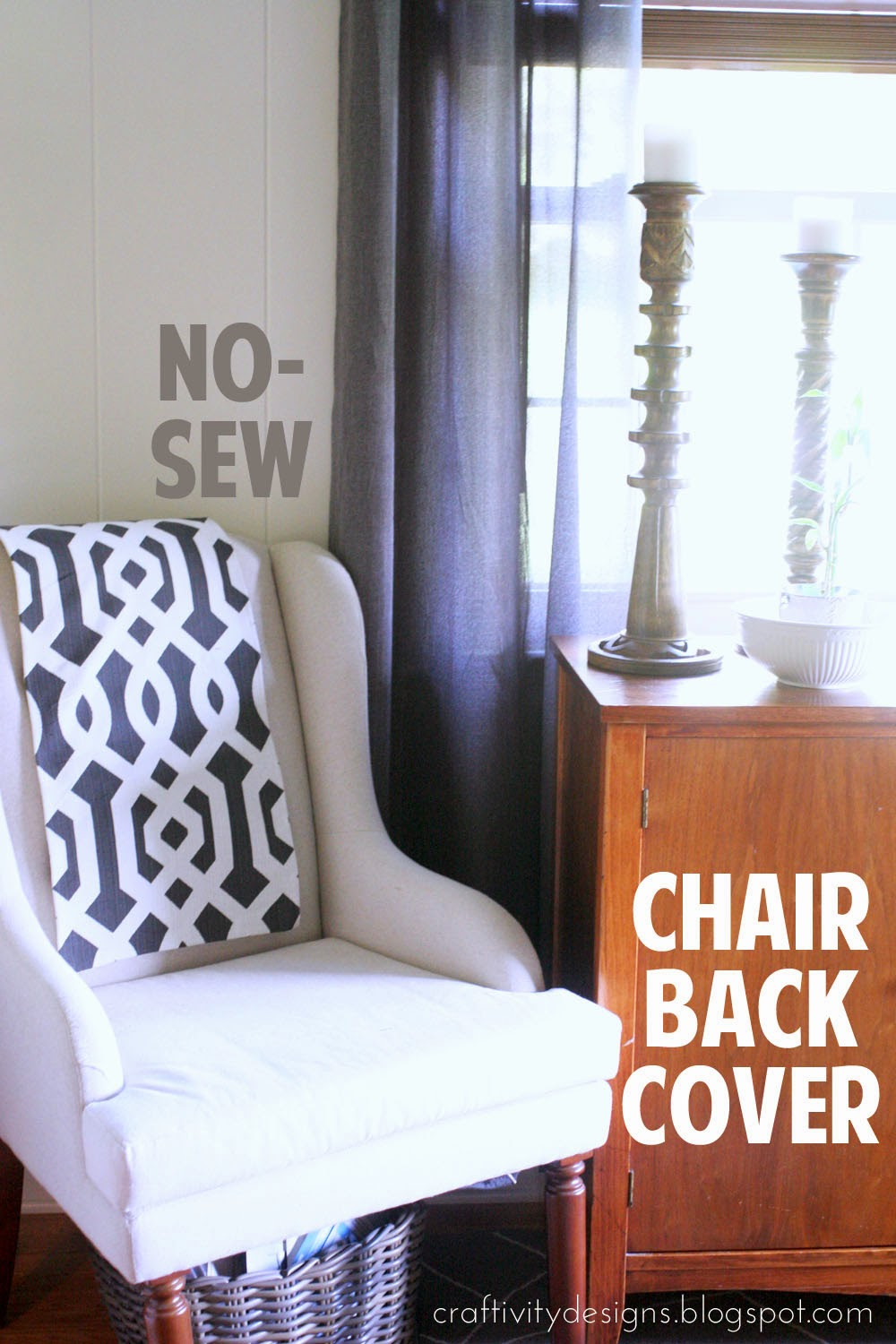 NoSew Chair Back Covers Craftivity Designs