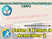 RPP KELAS 6 TEMA 9 SD/MI KURIKULUM 2013 REVISI 2018