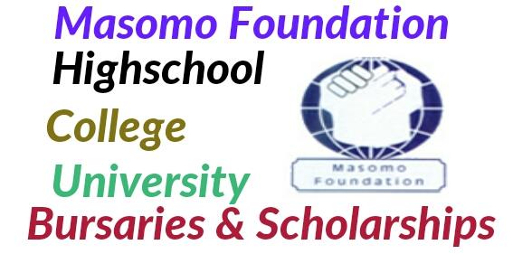 Latest scholarships Masomo foundation