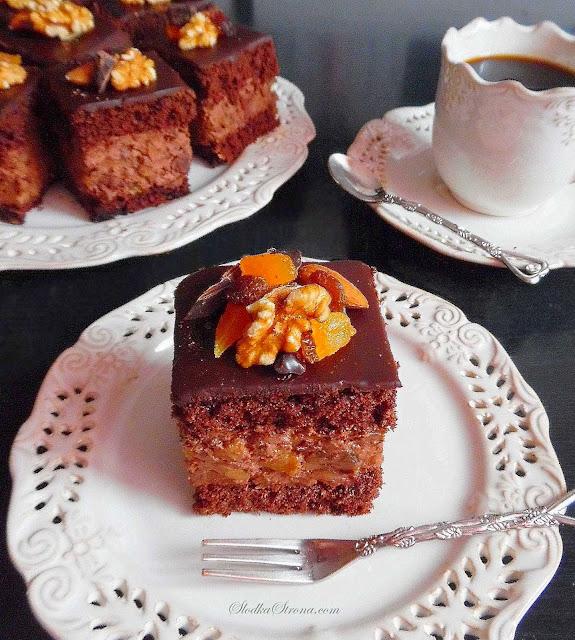 Rewelacyjne Ciasto Bakaliowo Czekoladowe - Przepis - Słodka Strona