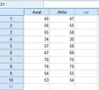 input data di data view spss statistikaa