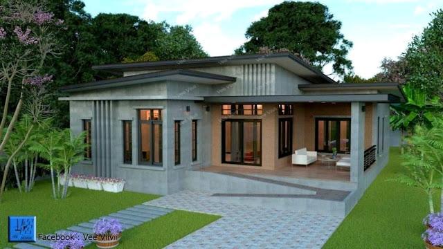 Desain rumah minimalis sederhana 2019