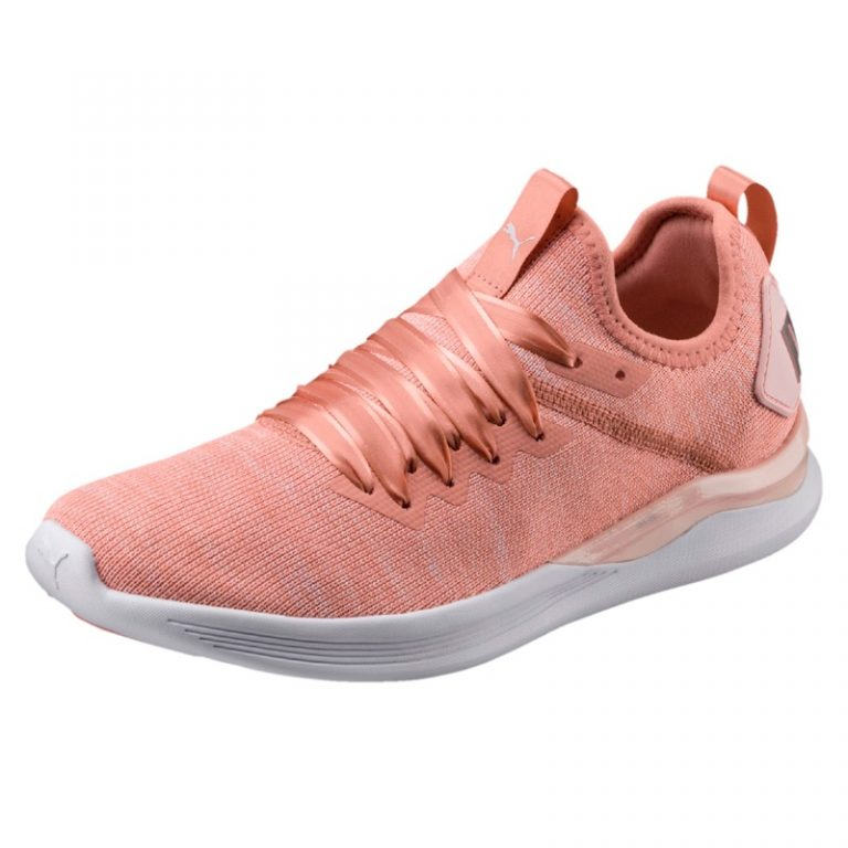 PUMA 'Flash Ignite' evoKNIT Sneaker in Peach