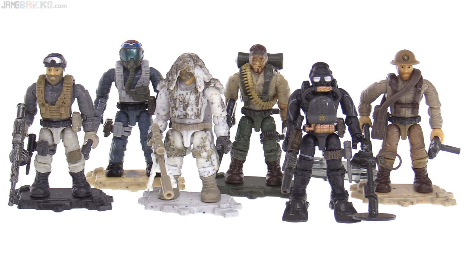 All Mega Construx Call Of Duty Series 1 Figures Reviewed